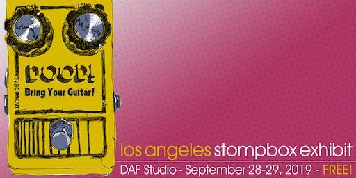 Los Angeles Stompbox Exhibit 2019 - FREE!