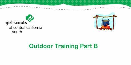 Outdoor Training Part B - Kern  tickets