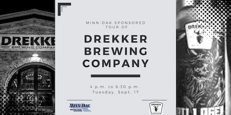 Drekker - Brewhalla: Minn-Dak Social - Tues., Sept. 17 tickets
