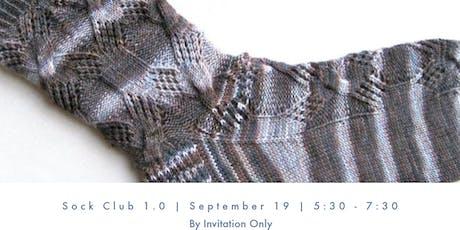 Sock Club 1.0 tickets