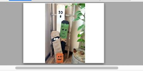 Halloween Friends Front Door Post tickets