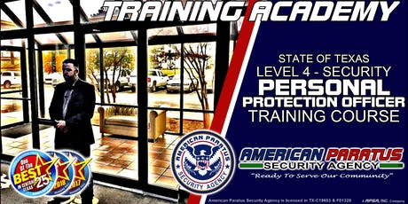 Killeen, TX / Level 4 - Personal Protection Officer Course tickets
