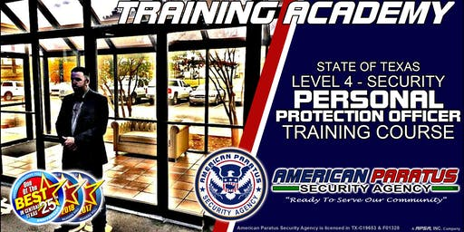 Killeen, TX / Level 4 - Personal Protection Officer Course