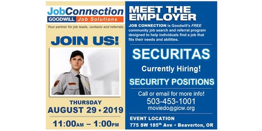 Hiring Event - Vancouver - 8/27/19
