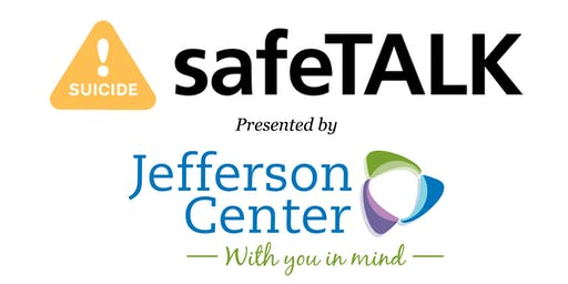 safeTALK Training - Thursday, October 3, 2019