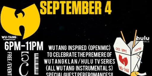 Wu Tang Open Mic