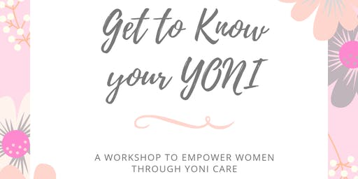 Know Your Yoni Workshop