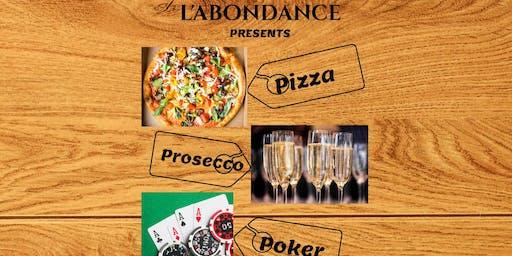 Singles Pizza Prosecco & Poker Evening