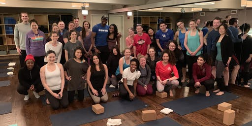 SEPTEMBER YOGA + Mimosas with Team Blessons