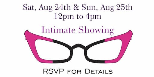 Intimate Showing - RSVP Required