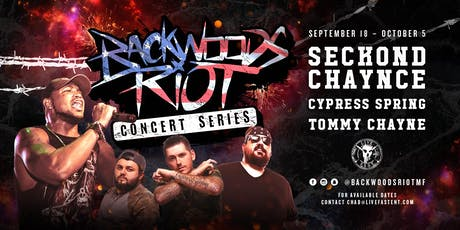 Backwoods Riot Concert Series with Seckond Chaynce and guests tickets