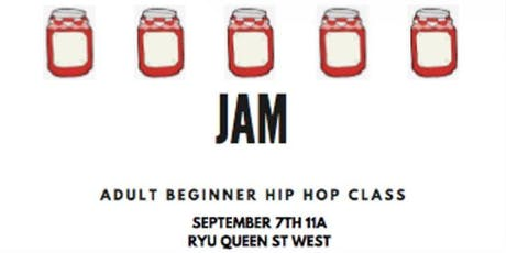 JAM - Adult Beginner Hip Hop Dance Class tickets