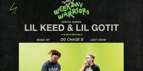 Lil Keed and Lil Gotit at Up & Down Thursday 8/22 tickets