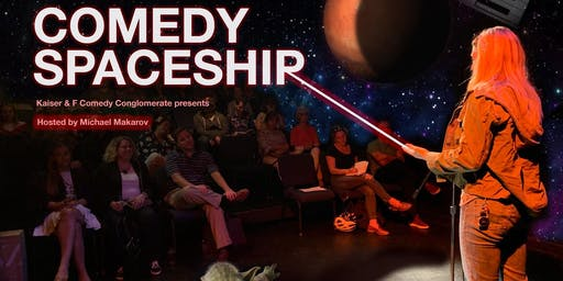 Comedy Spaceship Open Mic