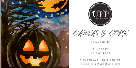 Canvas & Cork | Spooky Night tickets