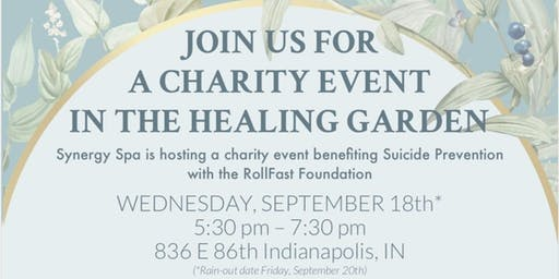 RF Foundation Charity Event in the Healing Garden