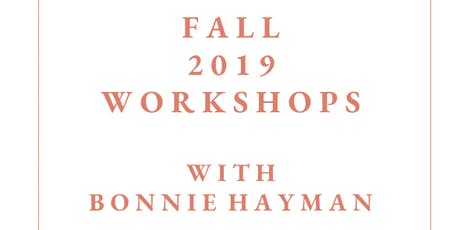 Fall 2019 Parenting Workshops with Bonnie Hayman tickets