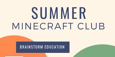 Summer Minecraft Club