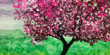 Paint Night - Pink Tree