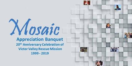 Victor Valley Rescue Mission Donor Appreciation Banquet tickets