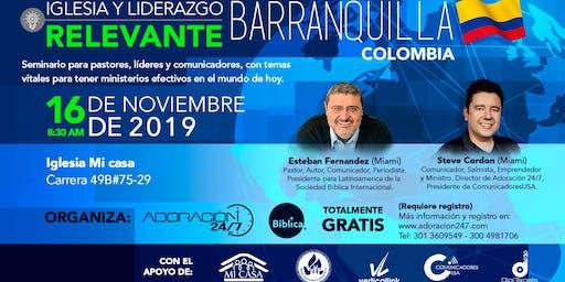 Seminario Iglesia y Liderazgo Relevante Barranquilla, Colombia