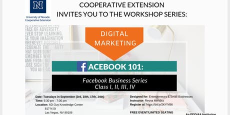FACEBOOK BUSINESS 101: SPANISH Tickets, Thu, Sep 12, 2019 at