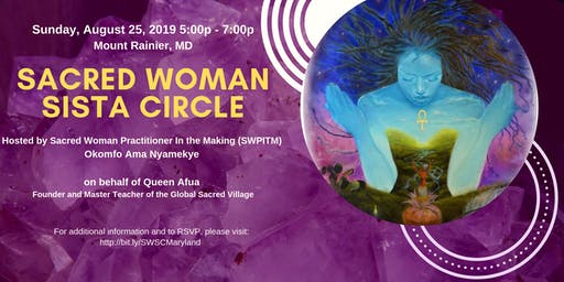Sacred Woman Sista Circle (SWSC): Maryland Edition