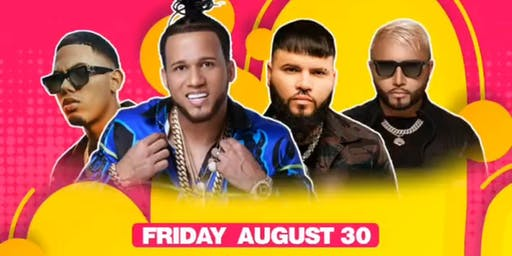 Alex sensation presents Farruko , El Alfa y Myke towers