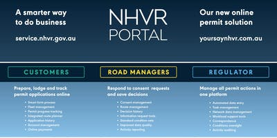 Rockhampton QLD - NHVR Portal Access Permits Road Manager Training (12 September 2019, 12.00pm to 4:00pm AEST)