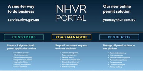 Rockhampton QLD - NHVR Portal Access Permits Road Manager Training (12 September 2019, 12.00pm to 4:00pm AEST) tickets