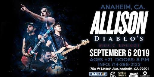 Allison en Anaheim