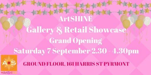 ArtSHINE Gallery and Retail Showcase Grand Opening: PYRMONT