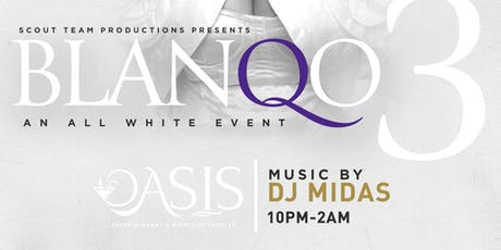 BlanQo3 - An All White Event tickets