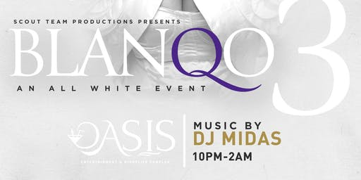 BlanQo3 - An All White Event