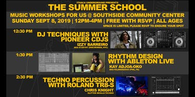 Summer School: Music Workshops for Us w/ Izzy Barreiro, Kay Adjoa-Oko