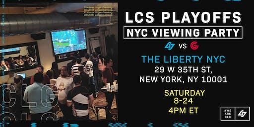 NY CLG vs CG LCS Viewing Party