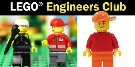 LEGO® Engineers Club (6-12 years) - Bribie Island Library tickets