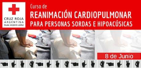 RCP para personas Sordas e Hipoacusicas 26 de Octubre (14 A 18HS) entradas