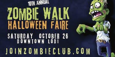 Zombie Walk & Halloween Faire 2019