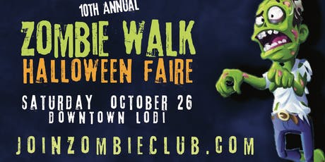 Zombie Walk & Halloween Faire 2019 tickets