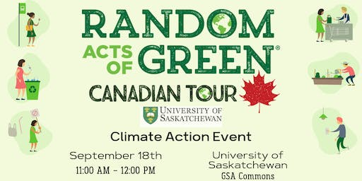 Random Acts of Green: Climate Action Event