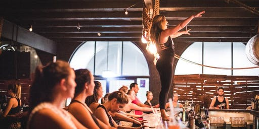 SweatNET x Pure Barre: Silent Disco Barre at the Bar with Tin Roof 2