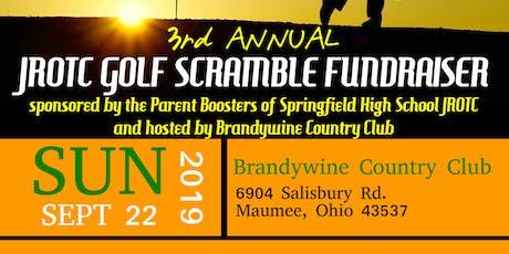 3rd Annual JROTC Golf Scramble Fundraiser tickets