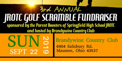3rd Annual JROTC Golf Scramble Fundraiser