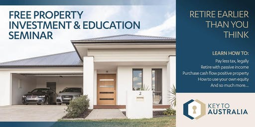 Free Property Investment & Educational Seminar