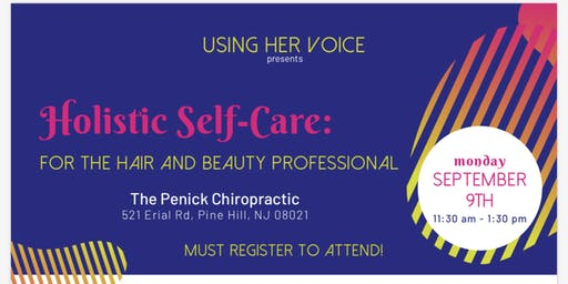 Holistic Self-Care for the Hair & Beauty Professional
