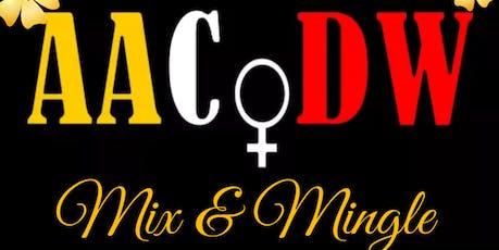 AACoDW Fall Mix & Mingle tickets