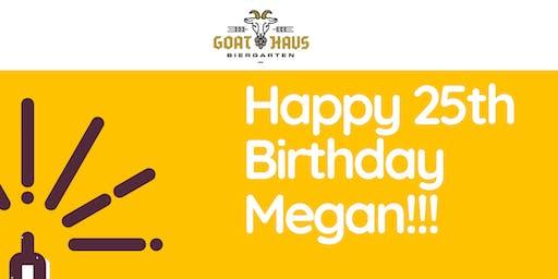 Megan Skipper's 25th Birthday Extravaganza