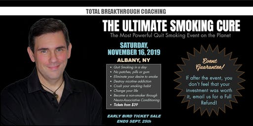 Ultimate Smoking Cure - The Most Powerful Quit Smoking Event on the Planet!