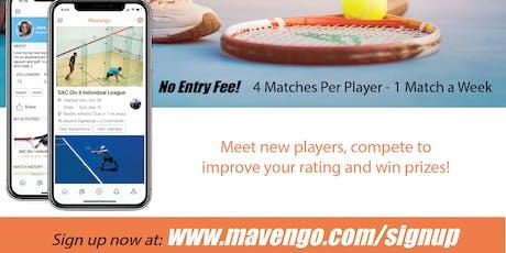 Mavengo Fall 2019 Tennis Invitational  tickets